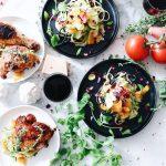 Slanke recepten met kip